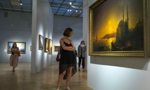 Московская выставка картин Айвазовского вызвала истерику в Киеве