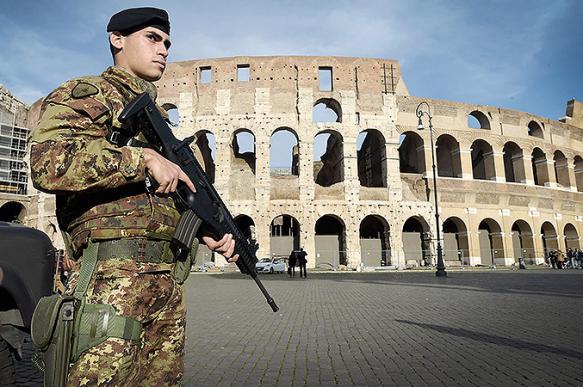 Вооруженная охрана будет охранять Колизей от вандалов