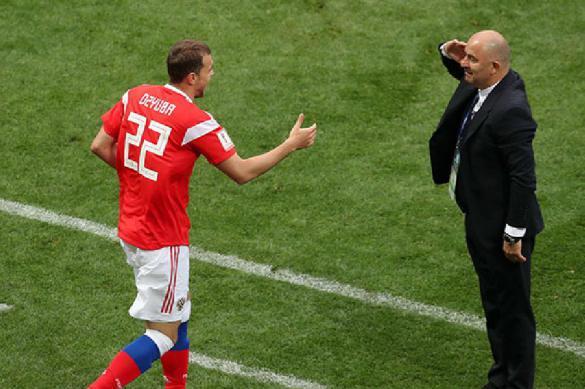 Футболист Новосельцев болел против сборной России во время чемпионата мира