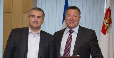 Вологодская область и Крым укрепляют сотрудничество