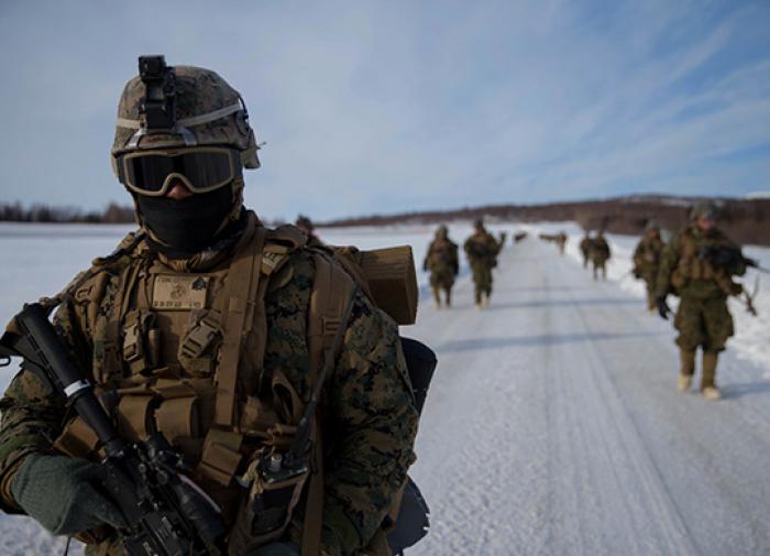 Американские морпехи провели учения вблизи российских границ