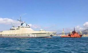 Новейший патрульный корабль пройдет испытания в Черном море