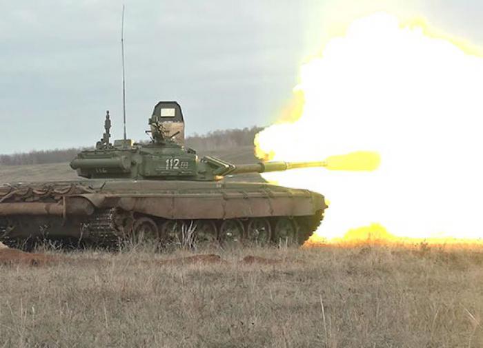 Более тысячи танкистов задействованы на учениях в Бурятии