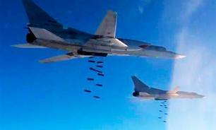 Россия уничтожила лагерь и склады боеприпасов ИГИЛ