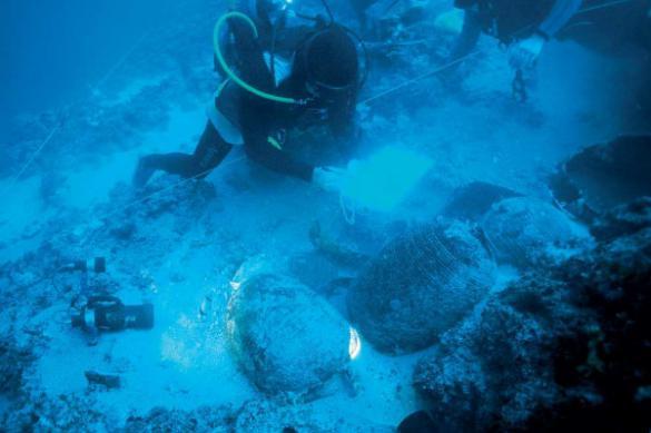 В Мексике со дна пещеры подняли останки древнего животного