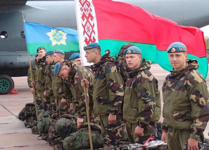 Белоруссия начинает военные учения на своих западных границах
