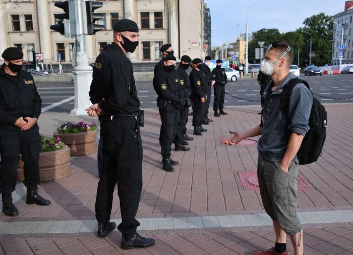 Глава КГБ Белоруссии назвал организаторов акций протеста в стране
