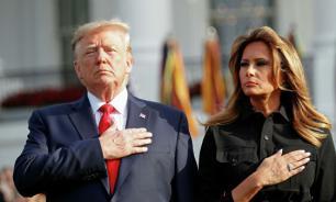 Меланья Трамп не смогла перерезать ленточку на открытии памятника