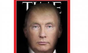 """Журнал Time выйдет с обложкой """"Путинотрампус"""""""