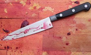 В Подмосковье мужчина с ножом напал на полицейских