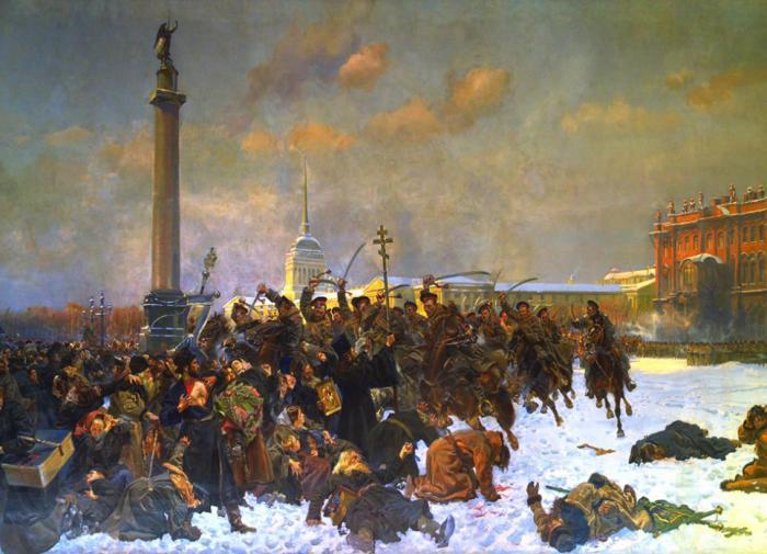 Кровавое воскресенье — апогей либерализма или начало профсоюзного движения в России