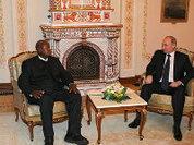 Президент Уганды тайно прибыл в Россию