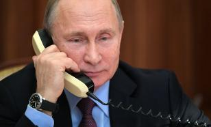Путин поговорил по телефону с президентом Алжира