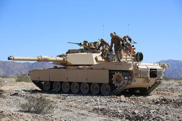 В Румынии замечена новая версия танка M1 Abrams