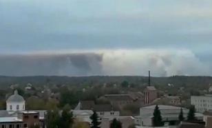 Украинский министр приписал России пожары на военных складах