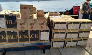 Больше тонны японского контрабандного алкоголя не пустили в Россию