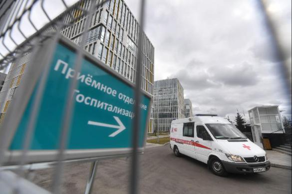 Число госпитализированных больных с COVID-19 в Москве растет