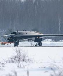 """СМИ впервые показали тяжелый боевой дрон """"Охотник"""""""