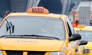 Таксисты-нелегалы в Москве оккупировали подъезды к станциям метро