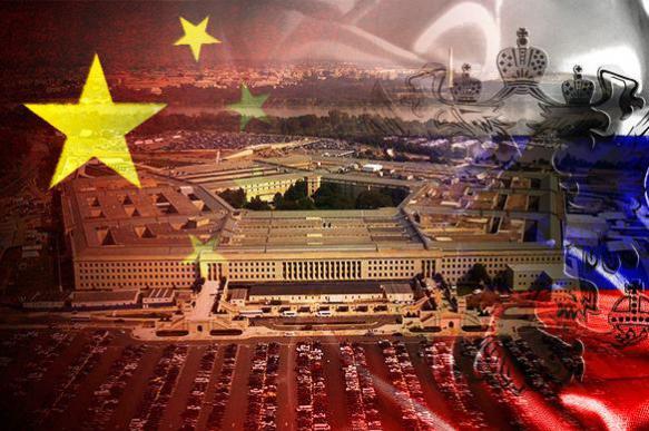 Пентагон собирается взять Китай и Россию в кольцо