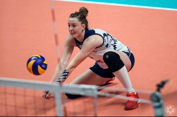 Украинская волейболистка переехала в Россию