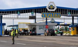 Огромная очередь авто выстроилась под Белгородом на границе с Украиной
