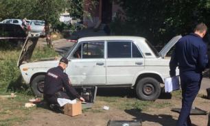 В одном из дворов Магнитогорска взорвался автомобиль