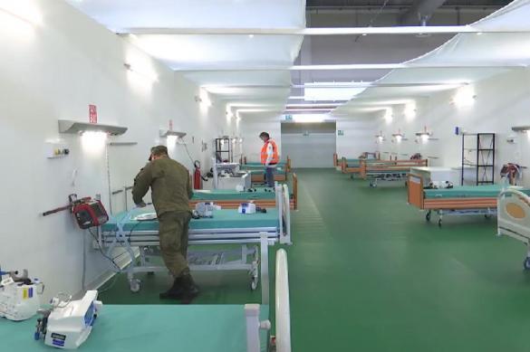 Российские военные развернули полевой госпиталь в итальянском Бергамо