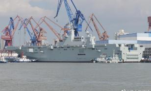 Type 075 - Китай спускает на воду новые УДК