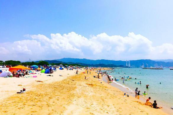 Жители Японии заполонили пляжи, несмотря на карантин