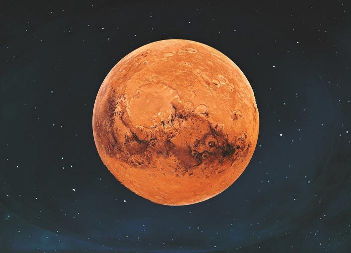 Китайский зонд сделал новые фото марсианской поверхности