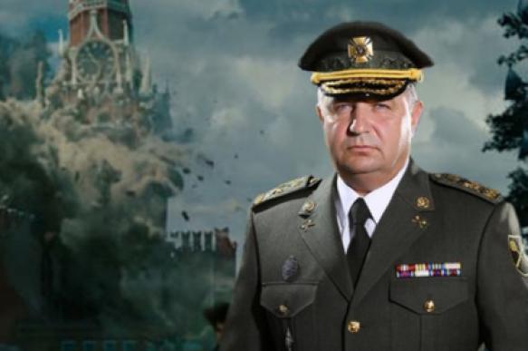"""Украинский министр обороны """"разрушил"""" Кремль с помощью фоторедактора"""