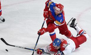 Россия обыграла Чехию на чемпионате мира по хоккею