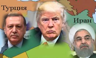 Трамп получает по лбу от Анкары и Тегерана