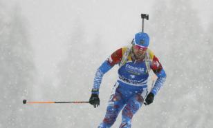 Назван состав сборной России на мужской спринт ЧМ по биатлону