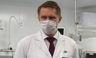 Министр здравоохранения России уходит на самоизоляцию