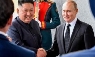 Путин направил Ким Чен Ыну поздравительную телеграмму