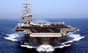 Авианосец ВМС США останется на Ближнем Востоке