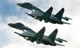 Российские Су-27 провели ракетные стрельбы в небе над Балтикой