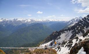 Туристы прятались от коронавируса в горах Сочи