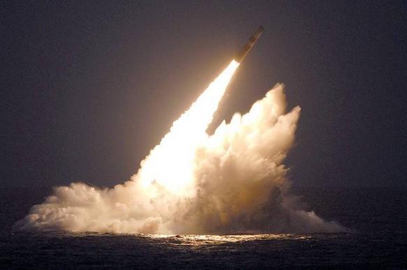 Появилось видео запуска американской баллистической ракеты