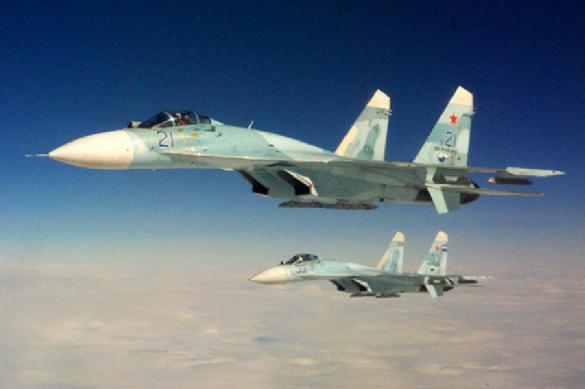 """""""Их трясло"""": Пентагон показал новое видео перехвата разведчика Су-27"""