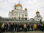 Православные мешают оппозиции провести акцию у Храма Христа Спасителя