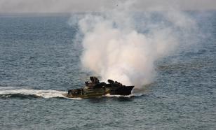 Девять американских военных погибли при затоплении БТР