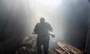 Этой ночью Горловка пережила мощный ночной обстрел со стороны украинских военных