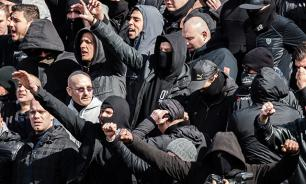 Полиция Брюсселя разогнала водометами марш националистов