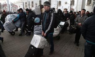 Рухнули объемы гастарбайтерских переводов из России