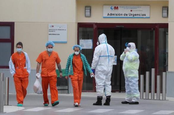 Число жертв коронавируса в Испании снизилось