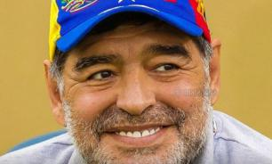"""Диего Марадона поддержал Николаса Мадуро: """"Я с ним"""""""