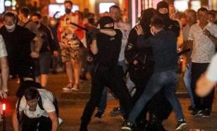 Протест в Белоруссии перешел в ожесточённую схватку с ОМОНом